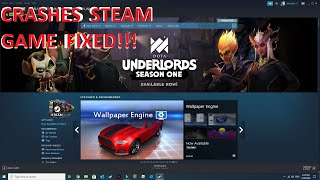 STEAM CRASHES FIXED!