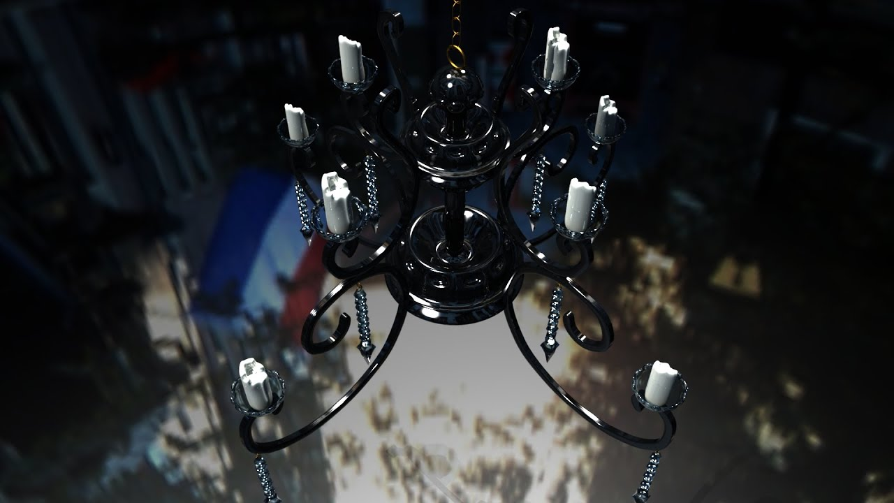 Maya tutorial how to model a chandelier youtube aloadofball Choice Image