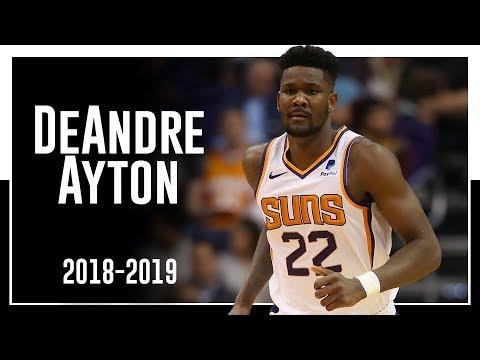 new arrival 54315 f3c77 Suns C DeAndre Ayton 2018-2019 Season Highlights ᴴᴰ