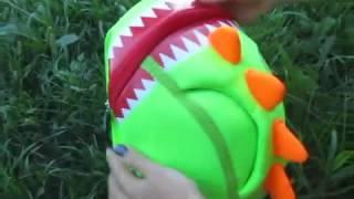 Обзор детского рюкзака Nohoo Дракончик