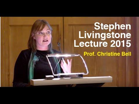 Stephen Livingstone 2015 - Prof. Christine Bell