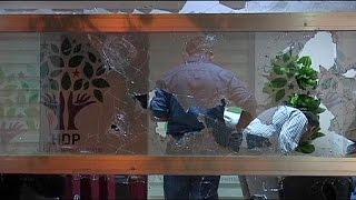 Türkei: Angriff auf Sitz der Kurdenpartei HDP