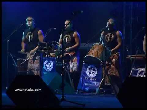 TE VAKA - KALEVE (Live) Polynesian drums and chants