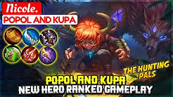 Popol And Kupa, New Hero Ranked Gameplay  Nicole  Popol And Kupa  Mobile Legends