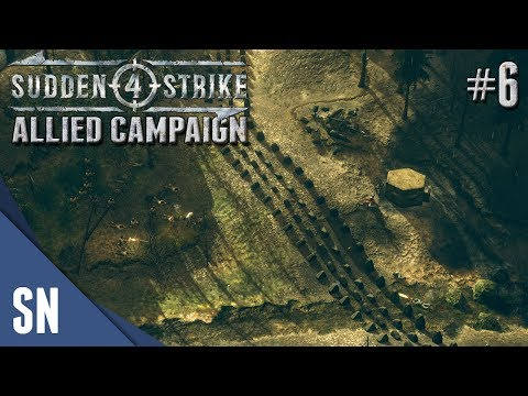 Battle #6: Hürtgen Forrest! - Sudden Strike 4 - Allied Campaign Gameplay