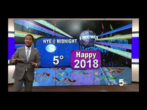 Ksdk 5 St Louis Mo 10 Pm Newscast Weather Segment December 29 2017
