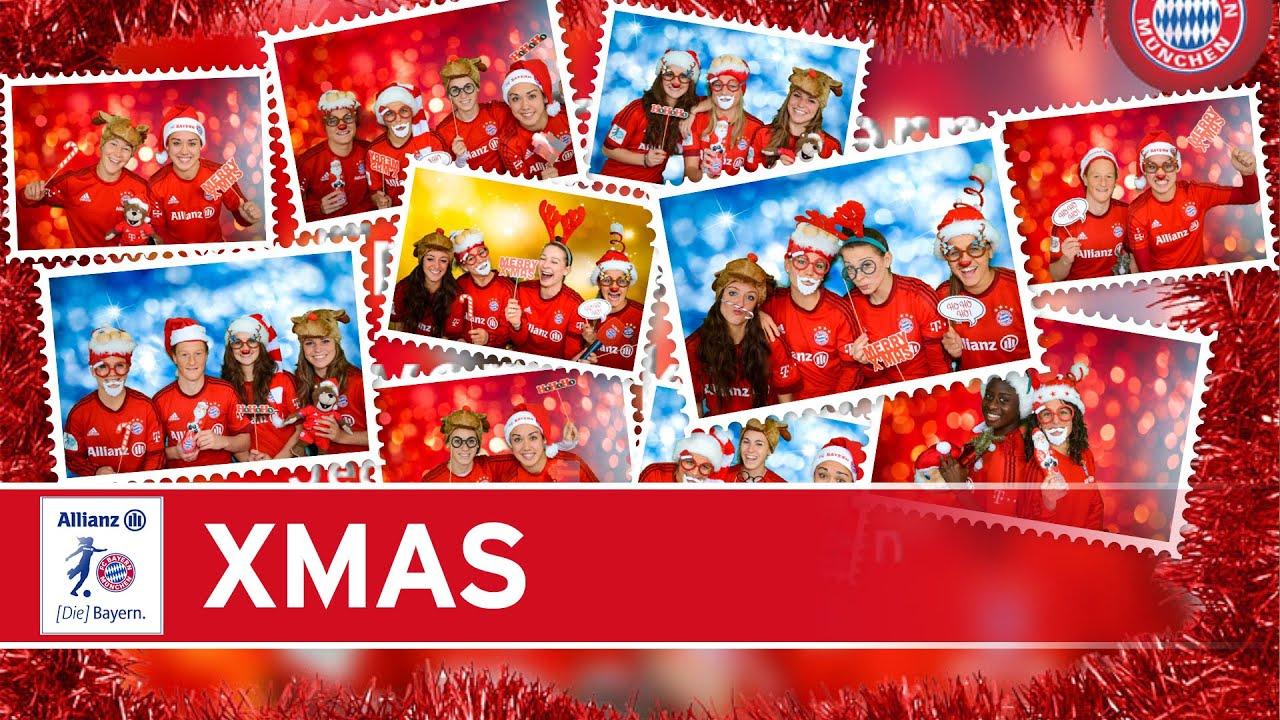 Fc Bayern Wünscht Frohe Weihnachten.Die Fc Bayern Frauen Wünschen Frohe Weihnachten 2015