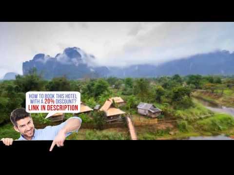 Champa Lao Bungalows, Vangvieng, Laos, HD Review