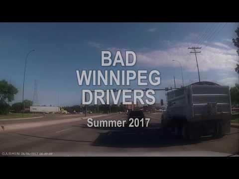 Bad Winnipeg Drivers - Summer 2017