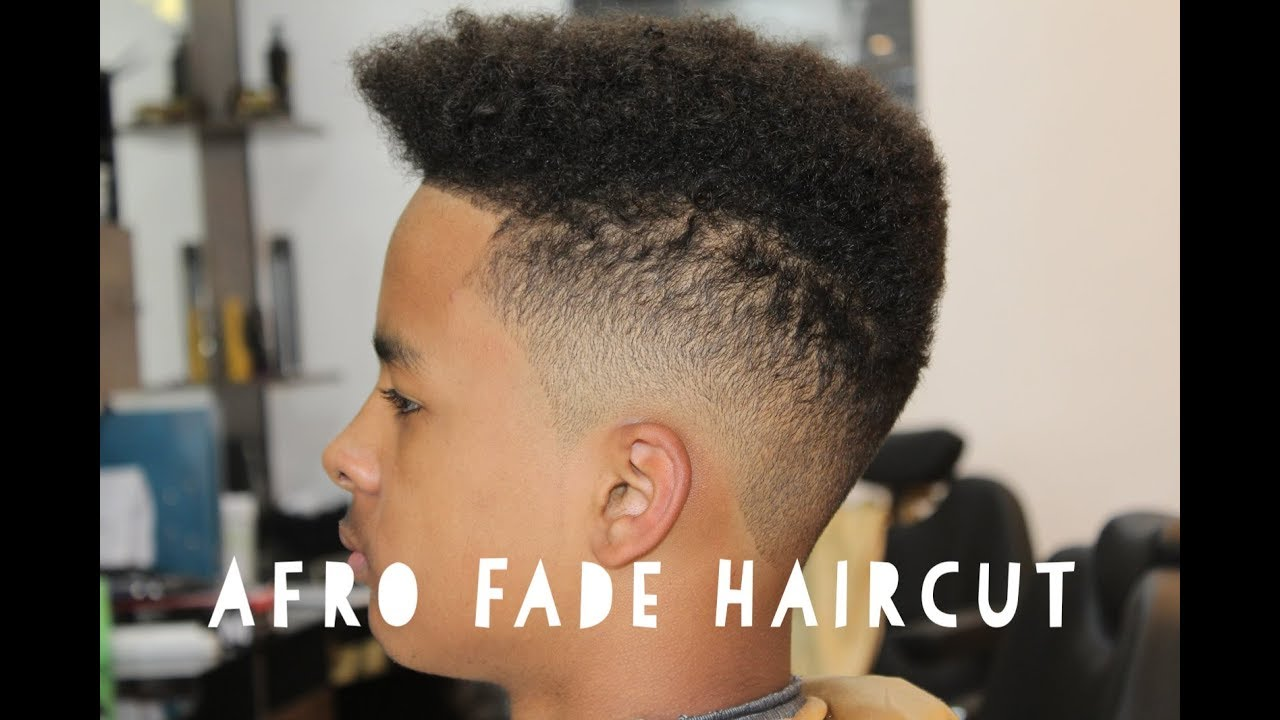 Afro Fade Haircut Youtube