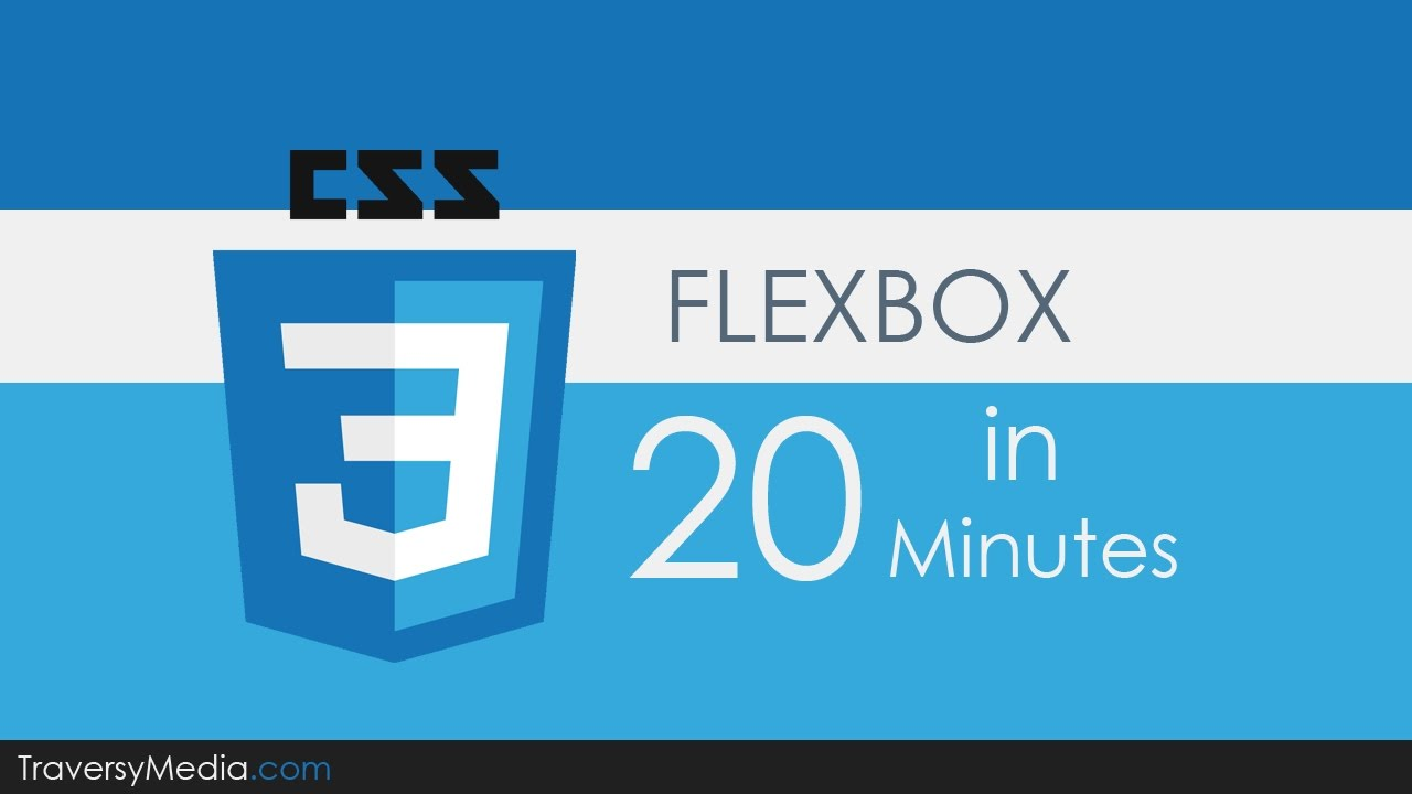 Flexbox CSS In 20 Minutes - YouTube