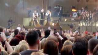 Robbie Williams - Take The Crown Tour - Hampden Park, Glasgow - 25th June 2013