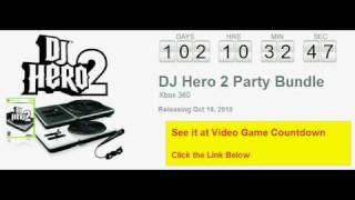 DJ Hero 2 Party Bundle Xbox 360 Countdown