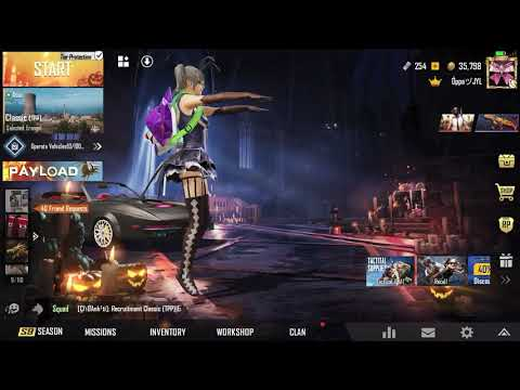PUBG MOBILE   OPPA JYL   Halloween Day Open 999 Free Classic Crate Coupon