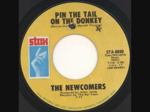 The Newcomers - Pin The Tail On The Donkey (1971)