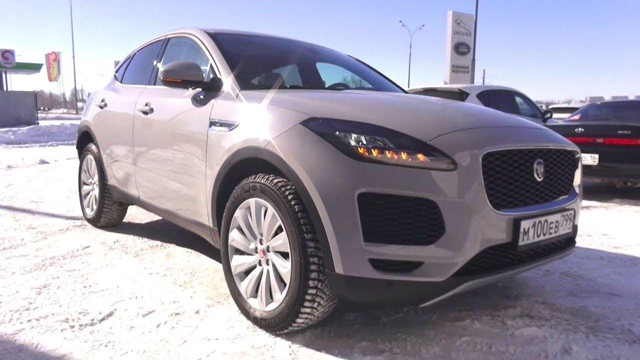 2018 Jaguar E-Pace. Start Up, Engine, and In Depth Tour.