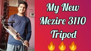 My New Mezire 3110 Tripod Unboxing and Review