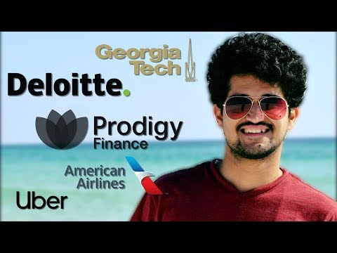 Georgia Tech | Deloitte, Uber, American Airlines | Prodigy Finance Achiever Vyom's Story