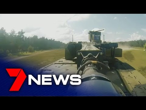 The Future Of The Australian Army Has Arrived With A New Armoured Personal Carrier  | 7NEWS