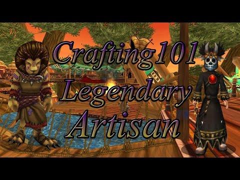 Crafting101   Legendary Artisan   Wizard101