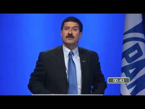 Javier Corral debate con Ricardo Anaya por la presidencia nacional del PAN
