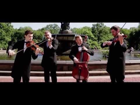 WELL-STRUNG, The Singing String Quartet, plays a mash-up of Mozart's A Little Night Music (1st Movement) with Kelly Clarkson's Since You've Been Gone.