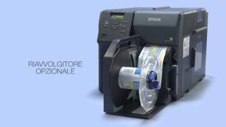 Stampante Epson ColorWorks C7500 industrial design