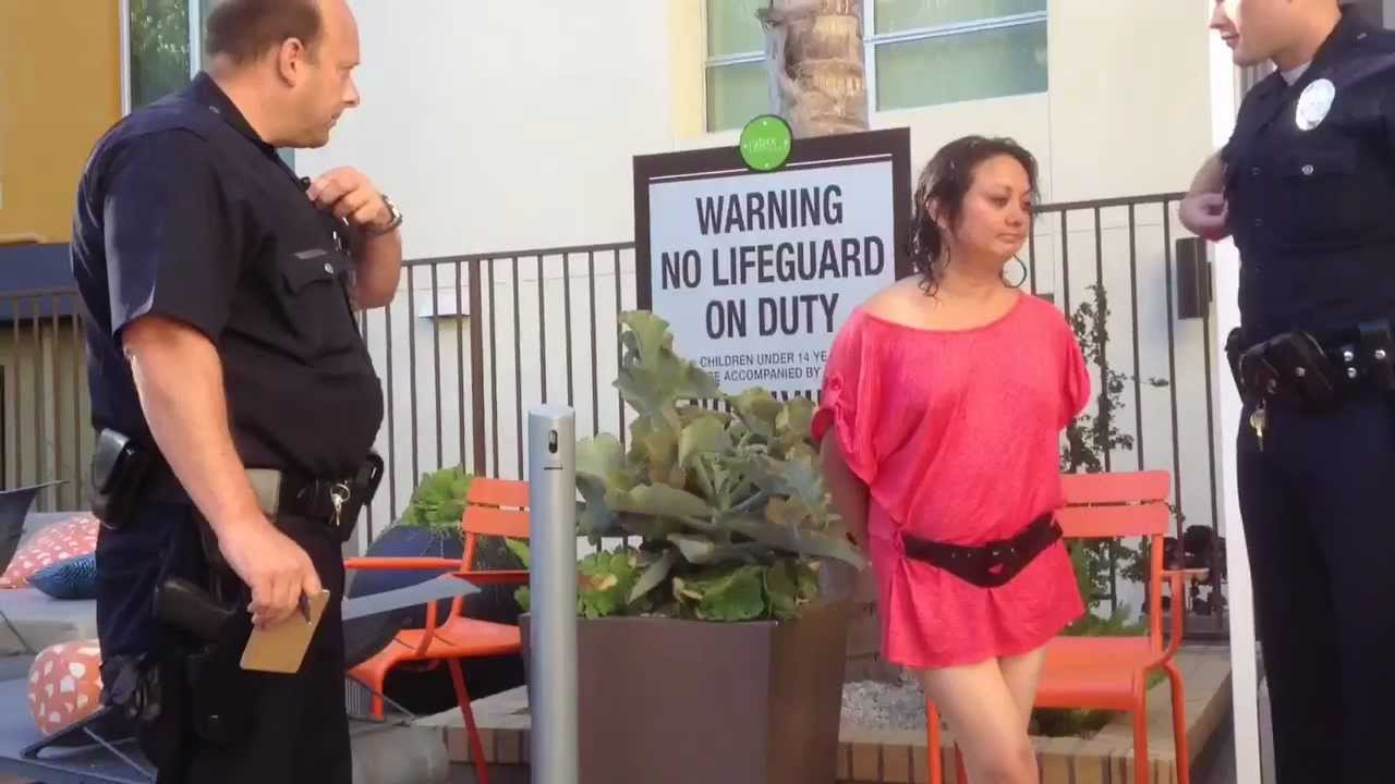 Drunk Chick Gets Naked And Then Arrested - Youtube-8393