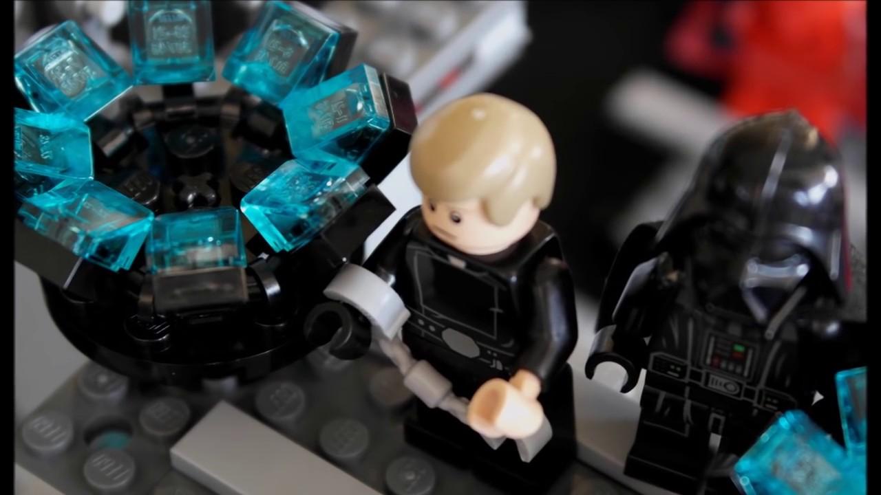 Lego Star Wars Luke Skywalker Vs Darth Vader Ita Fan Made Youtube