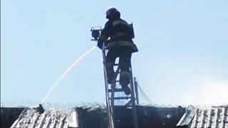 Ликвидация Пожара в Гостинице Верховина. Магнолия-ТВ