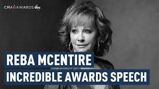 Reba McEntire, Carrying the Banner for Country Music  | CMA Awards 2019 | CMA