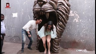 shraddha Kapoor, Tiger Shroff Arrives For Promotion Of Upcoming Film