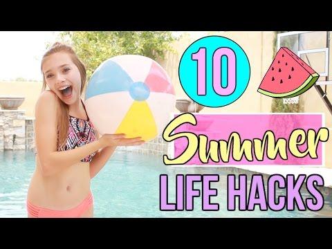 10 Summer Life Hacks Everyone Needs to Know!