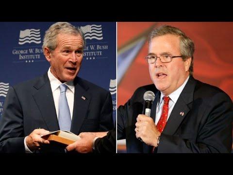 Jeb Bush: I Agree With W. On Iraq!