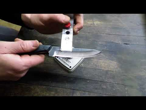 Lansky Sharpening with Diamond Hones