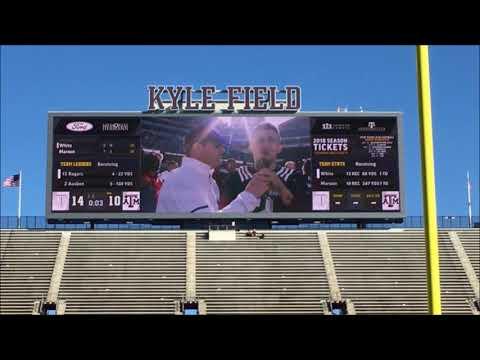 Johnny Manziel Interview Texas Aggie Spring Football Game 2018