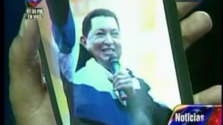 Maduro presenta el bulto de Chávez