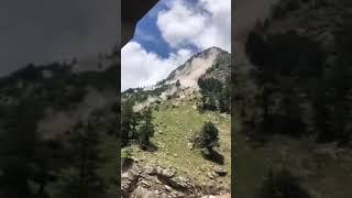 Ужасный камнепад в Индии
