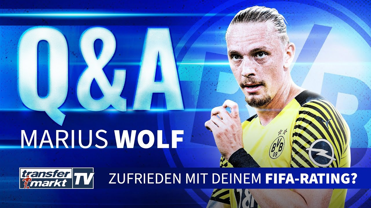 Download Q&A mit BVB-Profi Marius Wolf – Zufrieden mit dem FIFA 22-Rating? | TRANSFERMARKT
