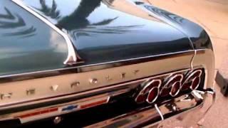 1964 Chevy Impala 2 Door Hardtop Blu