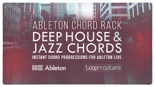 Deep House Chords Ableton Live Rack - Deep Jazzy Chord Progressions One Shot Chords