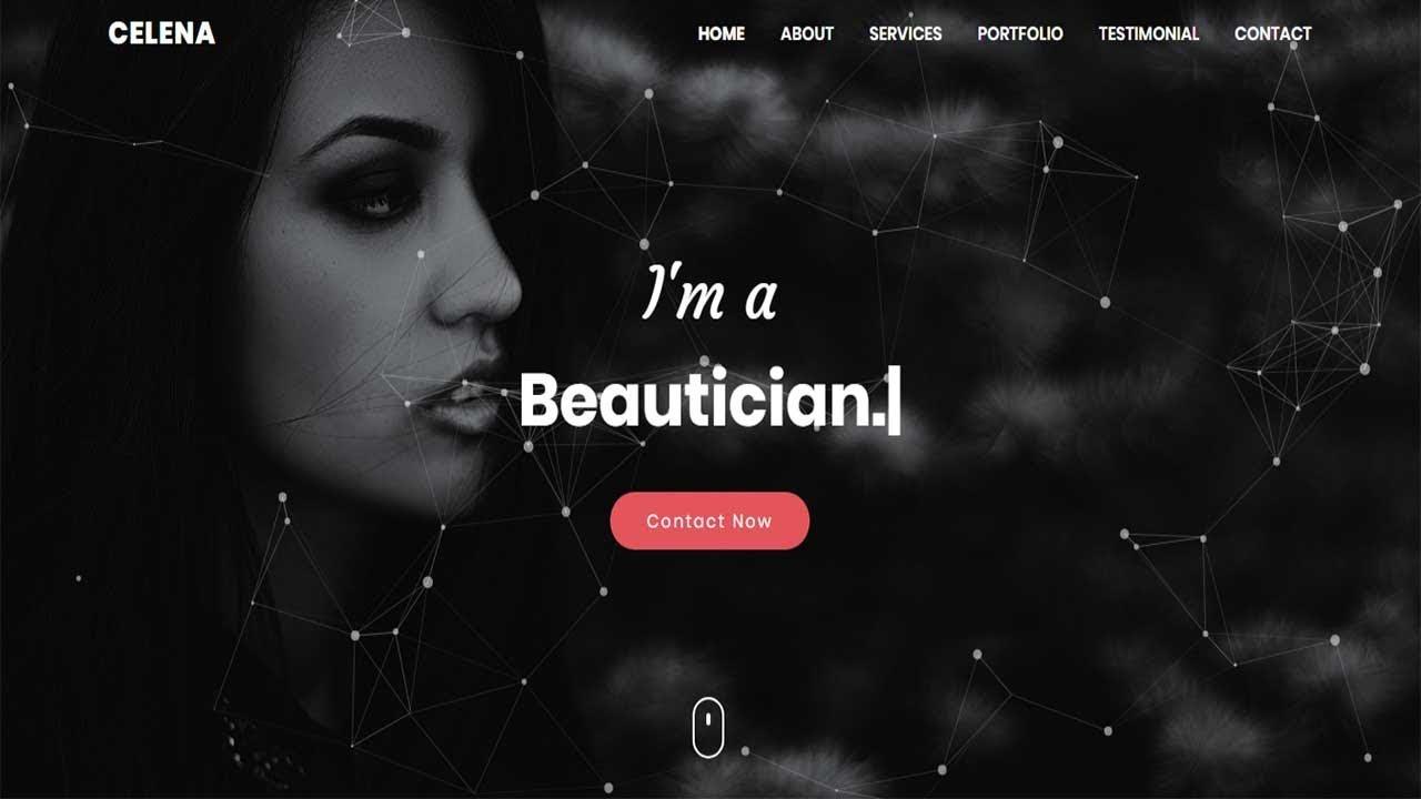 Celena - Personal Portfolio html Template | Bootstrap Portfolio Website