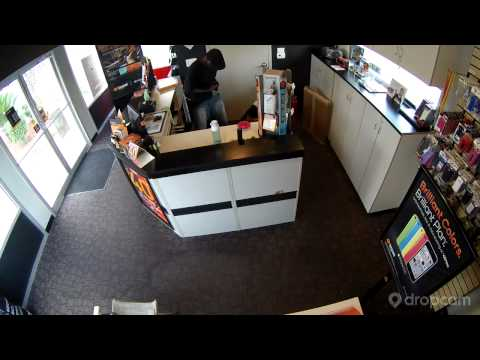 Brutal Robbery of Cell Phone Store
