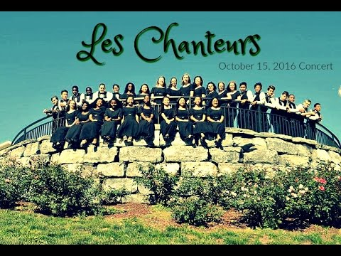 Les Chanteurs, Union Springs Academy Concert October 10, 2016