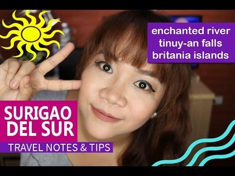 Travel Notes: Enchanted River, Surigao Del Sur   Candid Headlines