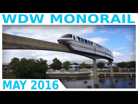 Walt Disney World Monorail System 2016