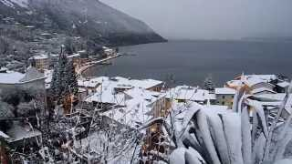 Torbole sul Garda  by snow