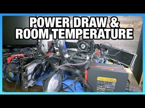 Room Temperature vs. GPU Heat: V64, GTX 1080, & Mining