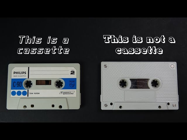 It's not a cassette - so what is it?