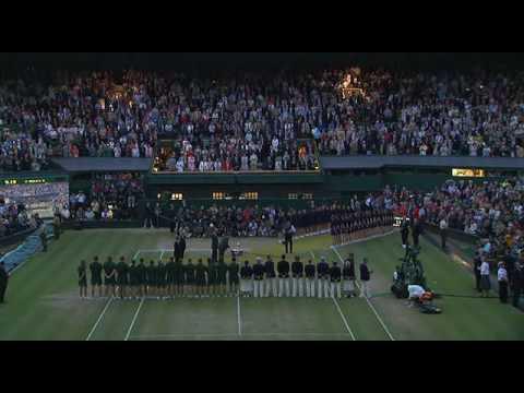 Rafael Nadal Victory Ceremony Wimbledon 2008